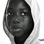 Jongen in Gambia